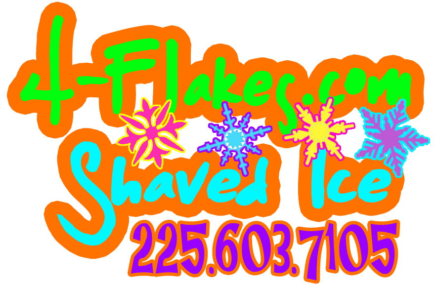 4-Flakes.com | South Louisiana Sno-Ball Shaved Ice Concession Rentals